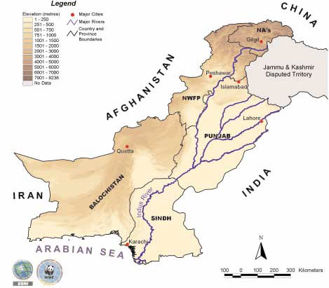 map of pakistan showing deserts Introduction To Pakistan Section 4 Natural Regions map of pakistan showing deserts